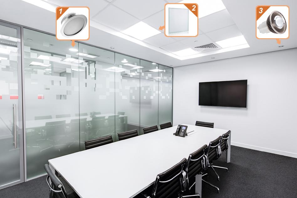 office lighting solutions. Shop \u0026 Mall Led Lighting Office Solutions