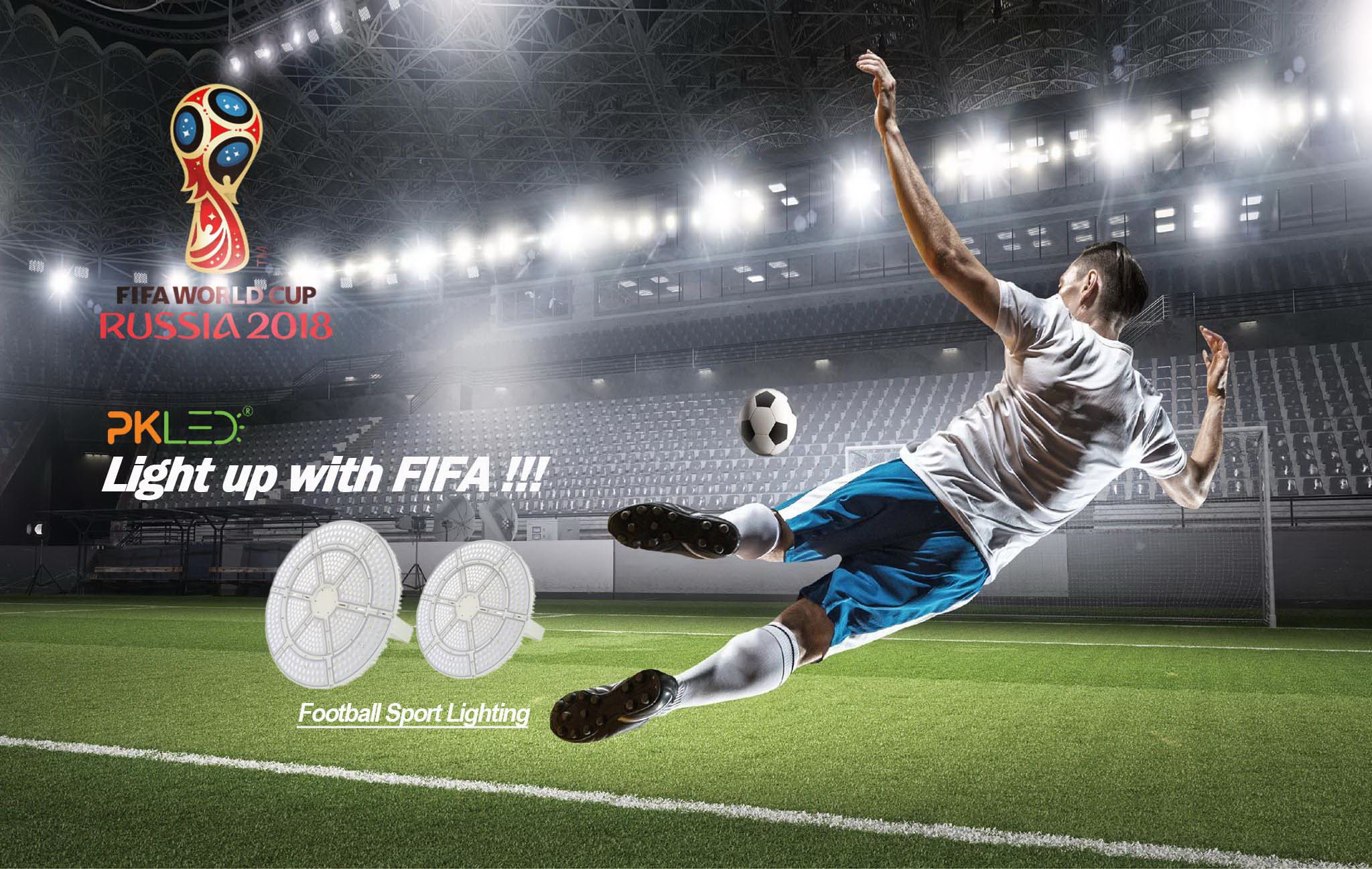Light up with FIFA! Football LED Lights