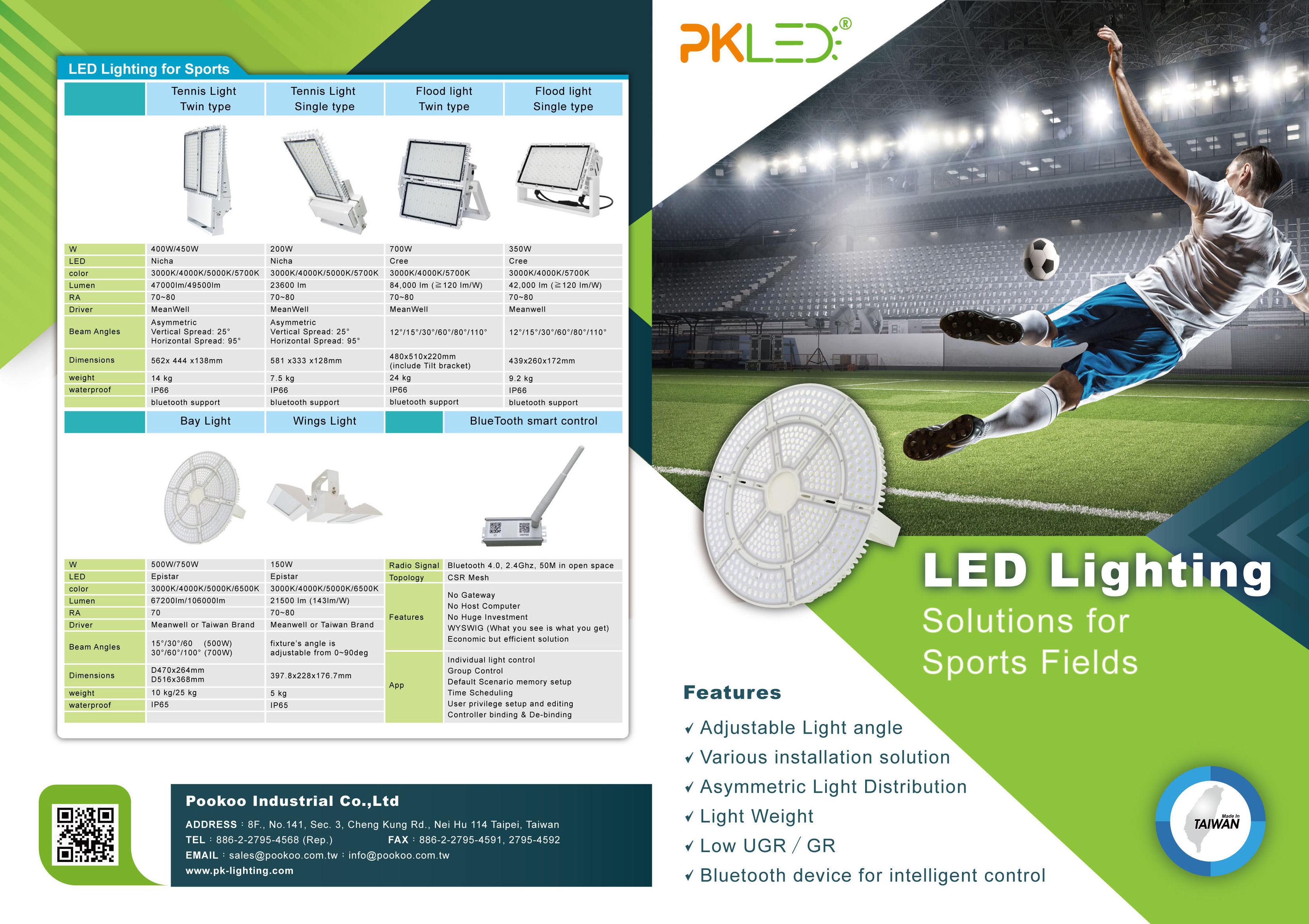 Lamps And Lighting >> Taiwan LED Lighting Manufacturer & Suppliers | Pookoo Industrial & Commercial Light Company